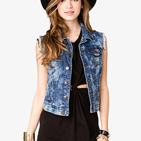 Boho Darling Denim Vest