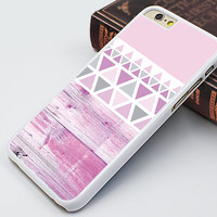 iphone 6 plus case,pink wood geometry image iphone 6 case,pink design iphone 5s case,wood geometrical printing iphone 5 case,idea iphone 4s case,rubber soft iphone 4 case