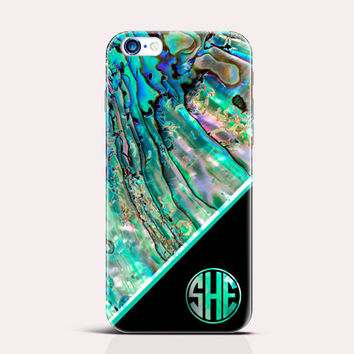 Monogram iPhone 6 case abalone shell iPhone 6 Plus Case iphone 5s Case iPhone 5c case Samsung S4 Case Galaxy Note 4 Case Samsung S5 Case