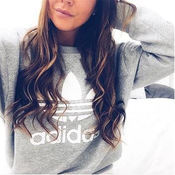 """Adidas"" Fashion Pullover Tops Sweater Sweatshirts"
