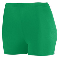 Augusta 1210 Ladies Poly/Spandex 2.5 Short - Green