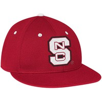 adidas North Carolina State Wolfpack Fitted On-Field Mesh Cap - Adult, Size: 7