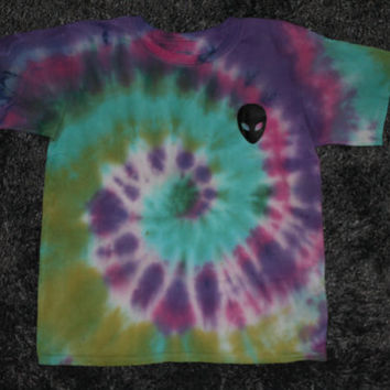 Pocket Alien Tie Dye T-Shirt