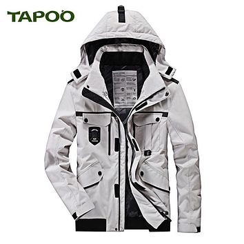 Hooded Men's Parka Winter 2017 Warm Windbreaker Thick Coats and Jackets Plus SIze 5XL Loose Military Casual jaqueta masculino