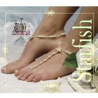 STARFISH Barefoot sandals | NAUTICAL wedding foot jewelry