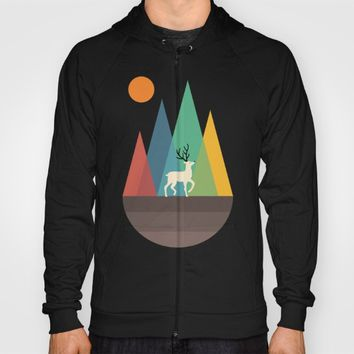 Step Of Autumn Hoody by Andy Westface