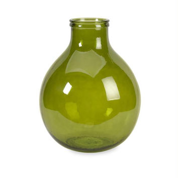 Recycled Vase - Green