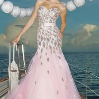 Ball Gowns - Pink by Blush Prom Pink Style 5120