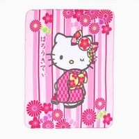 Hello Kitty Throw Blanket: Kimono