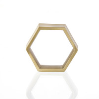 Hexagon Napkin Rings (set of 4) design by Ferm Living
