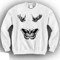 Harry Style Tattoo Unisex Crewneck Funny and Music