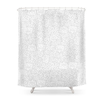 Society6 Victorian Floral Inspirations Shower Curtain