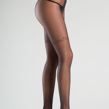Be Wicked Sexy Lingerie BW760 Pantyhose