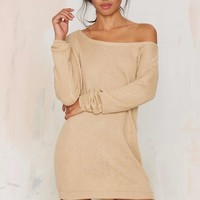 Jordan Knit Dress - Beige