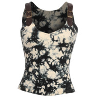 Steampunk Tie Dye Tank Top - RL-SP084 from Dark Knight Armoury