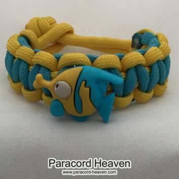 Kissing Fish - Children Paracord Heaven Survival Bracelet with Knot Closure