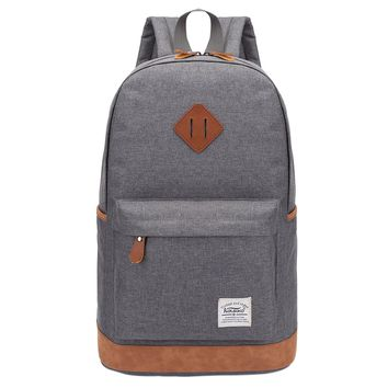 Canvas Backpack With Large Capacity For Men