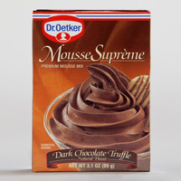 DR. OETKER DARK CHOCOLATE TRUFFLE MOUSSE