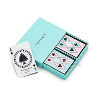 Tiffany & Co. -  Tiffany playing cards, Tiffany Blue® and pink.