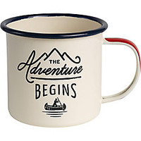 Gentleman's Hardware Adventure Enamel Mug