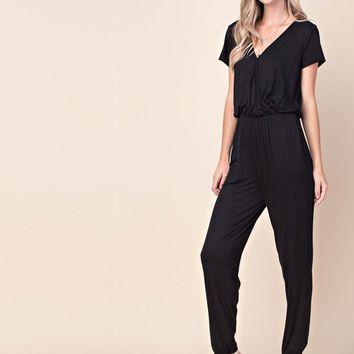 Everyday Jumpsuit in Black