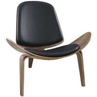 Molded Wood Lounge Chair