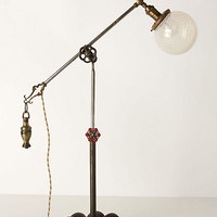 Opalescent Globe Table Lamp