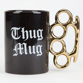 Ankit Thug Mug Coffee Mug Black/White One Size For Men 26282112501