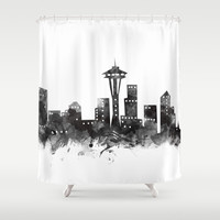 Seattle Skyline by monn