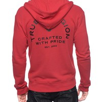 True Religion Crafted With Pride Hoodie - Red