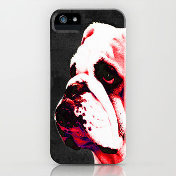 Southern Dawg By Sharon Cummings iPhone & iPod Case by Sharon Cummings
