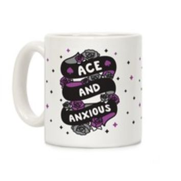 ACE AND ANXIOUS COFFEE MUG
