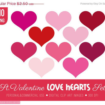 SALE - love clipart, love clip art, love heart clipart, love heart clip art, valentines day, valentines clipart, valentines digital, red pi