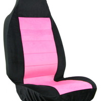 Pink Black Car Seat Cover