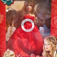 "Taylor Swift - ""Santa Baby"" Special Edition Performance Holiday Doll"
