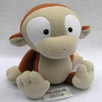 Silly Little Plush Monkey Toy by stuffedsilly on Etsy