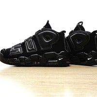 Supreme x Nike Air More Uptempo Black 902290-001