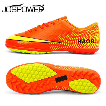 Baobu TF Turf Football Boots Spikes Sneakers Teenager Football Training Shoes Soccer Sneakers For Men Boy Soccer Shoes