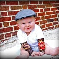 Tattoo Sleeved Onesuit for Infants by diaperdesignsbykim on Etsy