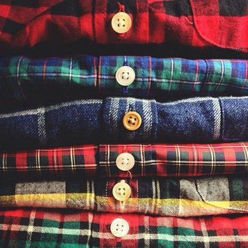 MYSTERY FLANNEL Vintage Surprise Hipster Flannel Gift Idea