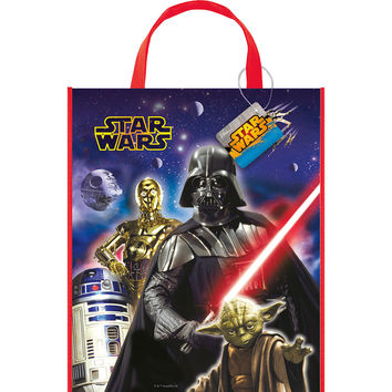 Star Wars - Plastic Party Tote Bag