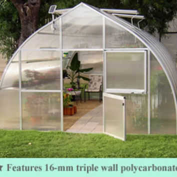Riga XL Commercial Quality Greenhouse kit 14 Foot Wide 10 Foot High