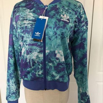 DCCKFC8 adidas Originals Crop Track Top Multicolor