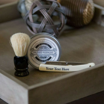 Adam - Specially Selected Groomsmen Straight Razor Shave Kit