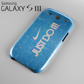 Nike Just Do IT Case For Samsung Galaxy S3, S4, S5 NJ11B