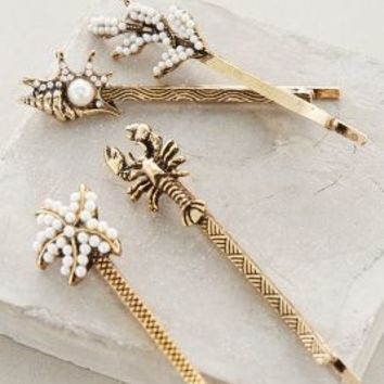 Endless Summer Bobby Set by Anthropologie Gold All Hair