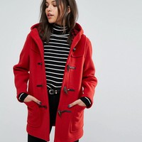 Gloverall Classic Mid Length Duffle Coat at asos.com