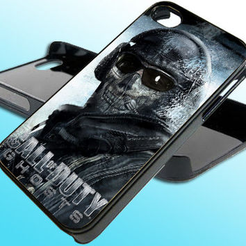 Call Of Duty Ghost for iPhone 4/4s Case - iPhone 5 Case - Samsung S3 - Samsung S4 - Black - White (Option Please)