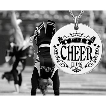 It's a Cheer Thing Necklace | Cheerleader Gift