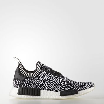 Adidas NMD_R1 Primeknit [BY3013] Men Casual Shoes Zebra Black/White